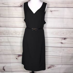 ModCloth Black Belted Black Dress NWT